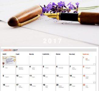 Letölthető 2017-es Grafo-naptár