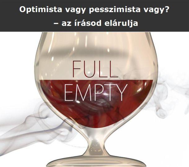 Optimista vagy pesszimista vagy? – az írásod elárulja